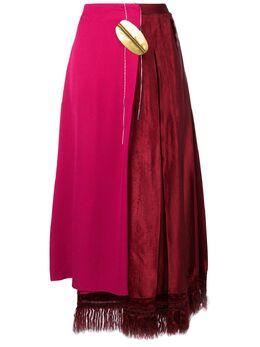 Marni асимметричная юбка с высокой талией GOMA0057QXTV635