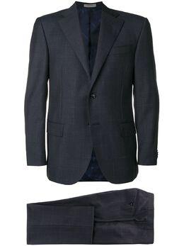 Corneliani checked two-piece suit 8272688817229