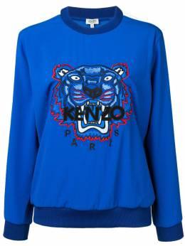 Kenzo классический свитер с вышивкой тигра F952TO0105AC