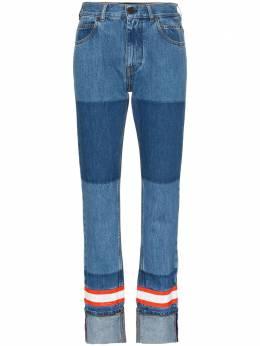Calvin Klein 205W39nyc прямые джинсы с контрастной аппликацией 91WDPA16C494