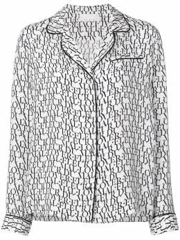 Fleur Du Mal пижамный топ с логотипом CU00080441