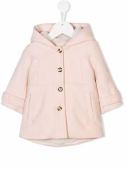 Chloe Kids faux fur lined coat C06083438
