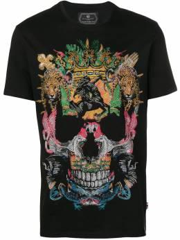 Philipp Plein футболка 'Jungle' S19CMTK2983PJY002N