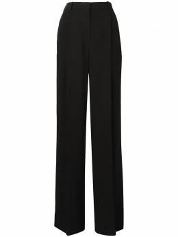 Sonia Rykiel широкие брюки со складками 1241030214