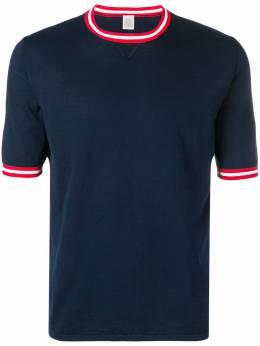 Eleventy футболка с контрастной отделкой 979MA0351MAG27001