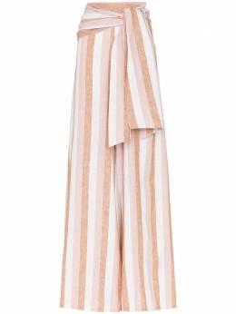 Adriana Degreas широкие брюки 'Porto' с поясом V19CCPT0112