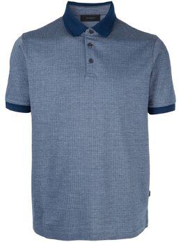 D'Urban рубашка-поло с контрастным воротником D39H9TI08039