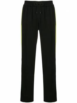 Kenzo спортивные брюки с лампасами F952PA1315AC