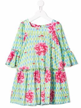 Mi Mi Sol платье с цветочным принтом 19EMF005ST0700