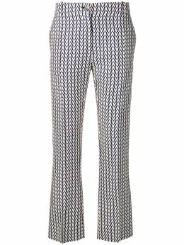 Valentino брюки с принтом логотипа RB3RB2W04EP