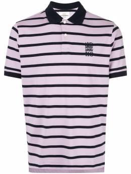 Kent & Curwen рубашка-поло в полоску K39H9TM250