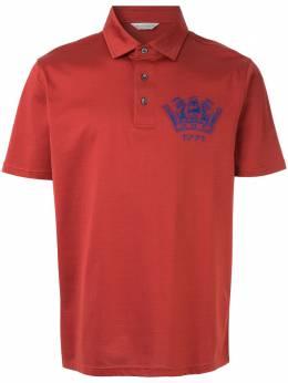 Gieves & Hawkes рубашка-поло с логотипом G39H9ER03067
