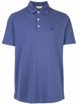 Gieves & Hawkes рубашка-поло с вышитым логотипом G39H9ER06029