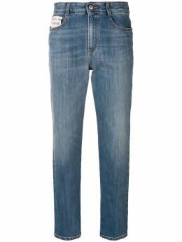 Stella McCartney укороченные джинсы кроя слим 450165SMH02