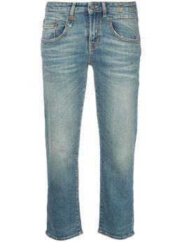 R13 укороченные джинсы 'Boy' узкого кроя R13W0091