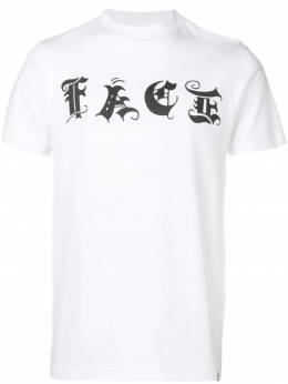 Facetasm футболка с принтом логотипа FNTTEEU06