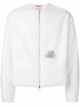Oamc куртка без воротника с логотипом OAMO421466OO463600C