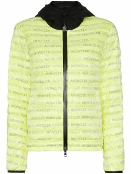Moncler куртка-пуховик с логотипом 4037485539J2E1091