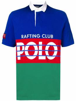 Polo Ralph Lauren футболка-поло с принтом 710717689001