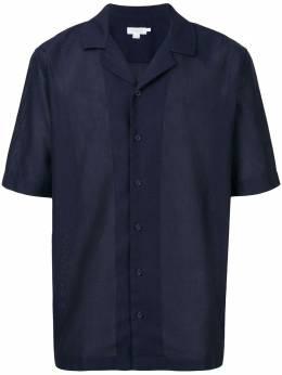 Sunspel рубашка с короткими рукавами MSHT2009BUAA