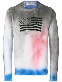 1017 Alyx 9Sm свитер с вышитым флагом AAMKN0009A
