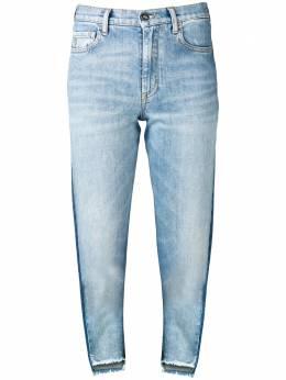 Marcelo Burlon County Of Milan двухцветные джинсы CWYA009S19A571523088
