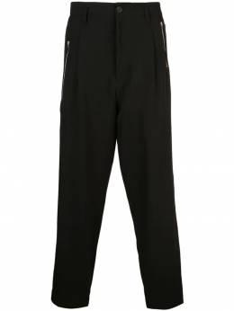 Yohji Yamamoto брюки с молнией HHP38100