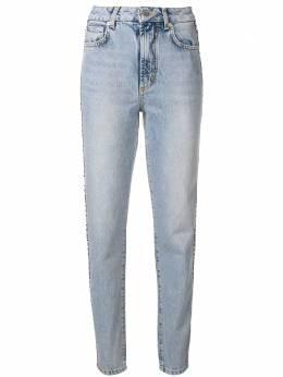Fiorucci джинсы с логотипом и боковыми вставками WWDNTATTRLV