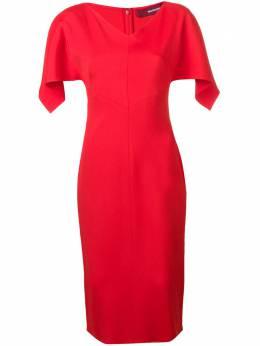 Sies Marjan приталенное платье с драпировкой 10SV5085