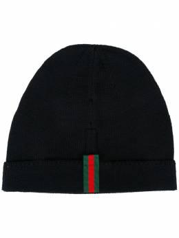 Gucci шапка с отделкой Web 4523984G498