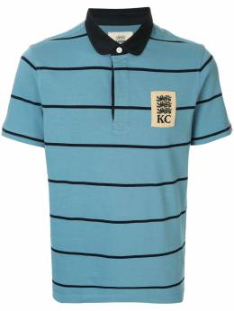Kent & Curwen рубашка-поло в полоску K39M0TM180
