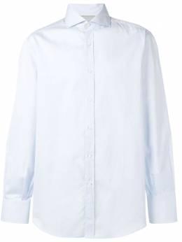 Brunello Cucinelli рубашка с заостренным воротником M0UC40028C735