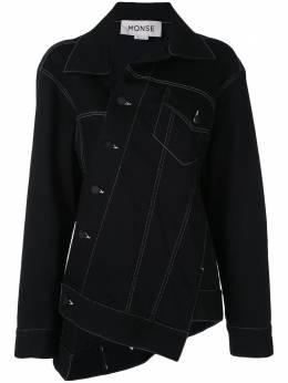 Monse джинсовый жакет асимметричного кроя MS19D1115DNM