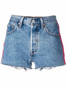 Levi's джинсовые шорты с отделкой сбоку 56327