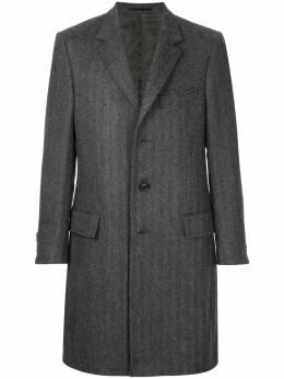 Gieves & Hawkes удлиненное пальто G36C3EI02097