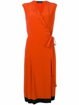 Cashmere In Love креповое платье с запахом SHRI