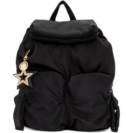 See By Chloe Black Joy Rider Backpack CHS16SS840140