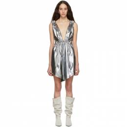 Isabel Marant Silver Kyle Dress RO1357-19E022I