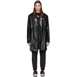 Palm Angels Black Palm x Palm Raincoat PMEA077E196160081088