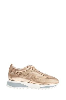 Золотистые кроссовки Santoni 1165126673