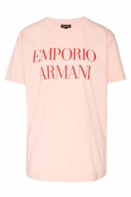 Футболка с принтом Emporio Armani 2706127096