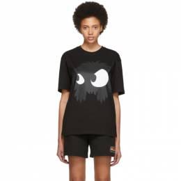 MCQ by Alexander McQueen Black Mad Chester Boyfriend T-Shirt 494256RNT58