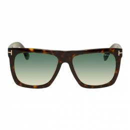 Tom Ford Tortoiseshell Morgan Sunglasses FT0513