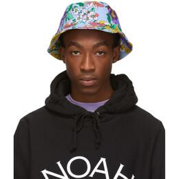 Noah Nyc Multicolor Floral Rugby Bucket Hat 191876M14000101GB
