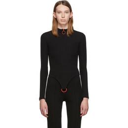 Rudi Gernreich Black D-Ring Sweater RG121KT15