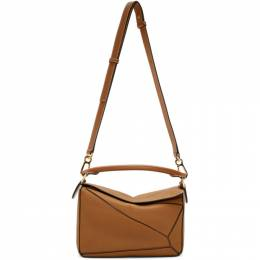 Loewe Tan Small Puzzle Bag 322.12KS21