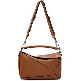Loewe Tan Puzzle Bag 322.30.S20