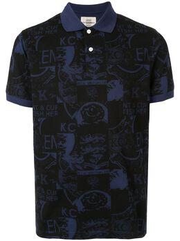 Kent & Curwen рубашка-поло с принтом K39H9TM340