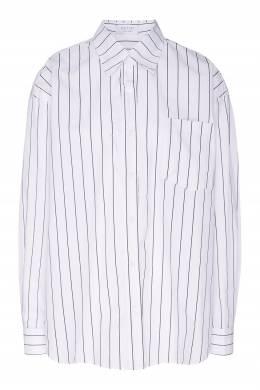 Хлопковая рубашка в полоску D.O.T.127 2550131675