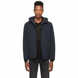 Herno Navy Packable Coaches Jacket IM001UR 12254